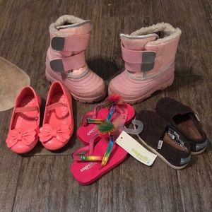 Other - Little girl shoes - sizes 4/5, 6, and 7